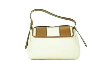 FENDI Canvas and Leather Handbag with Gold-Toned Hardware, Houston Texas, Retail Consignment shop