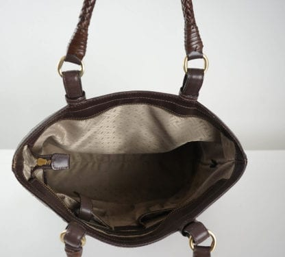 cole haan woven brown tote purse Women's Designer Bags Houston, Texas Houston Consignment Boutique Couture Blowout