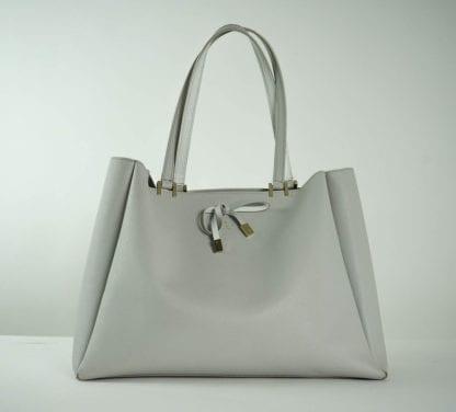 Kate Spade grey tote bag with bow women's handbags designer bags houston, texas women's fashion houston consignment