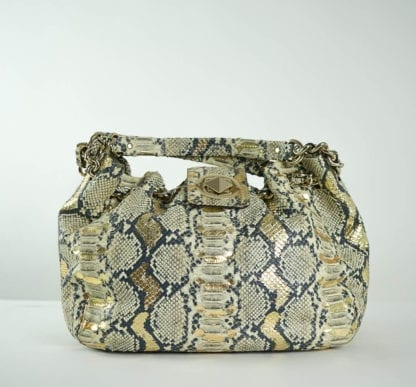 KATE SPADE® Gold Python Bag Women's Designer Bags Houston, Texas Houston Consignment Boutique Couture Blowout