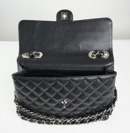 CHANEL® Black Caviar Maxi Classic Bag Women's Designer Bags Houston, Texas Houston Consignment Boutique Couture Blowout