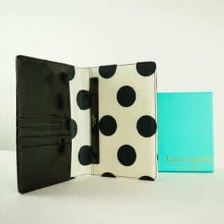 Kate Spade Black Patent Wallet Women's Wallets Housotn, Texas Women's Consignment