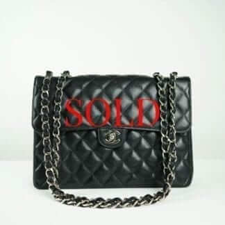 CHANEL® Black Caviar Maxi Classic Bag Women's Designer Bags Houston, Texas Houston Consignment Boutique Couture Blowout